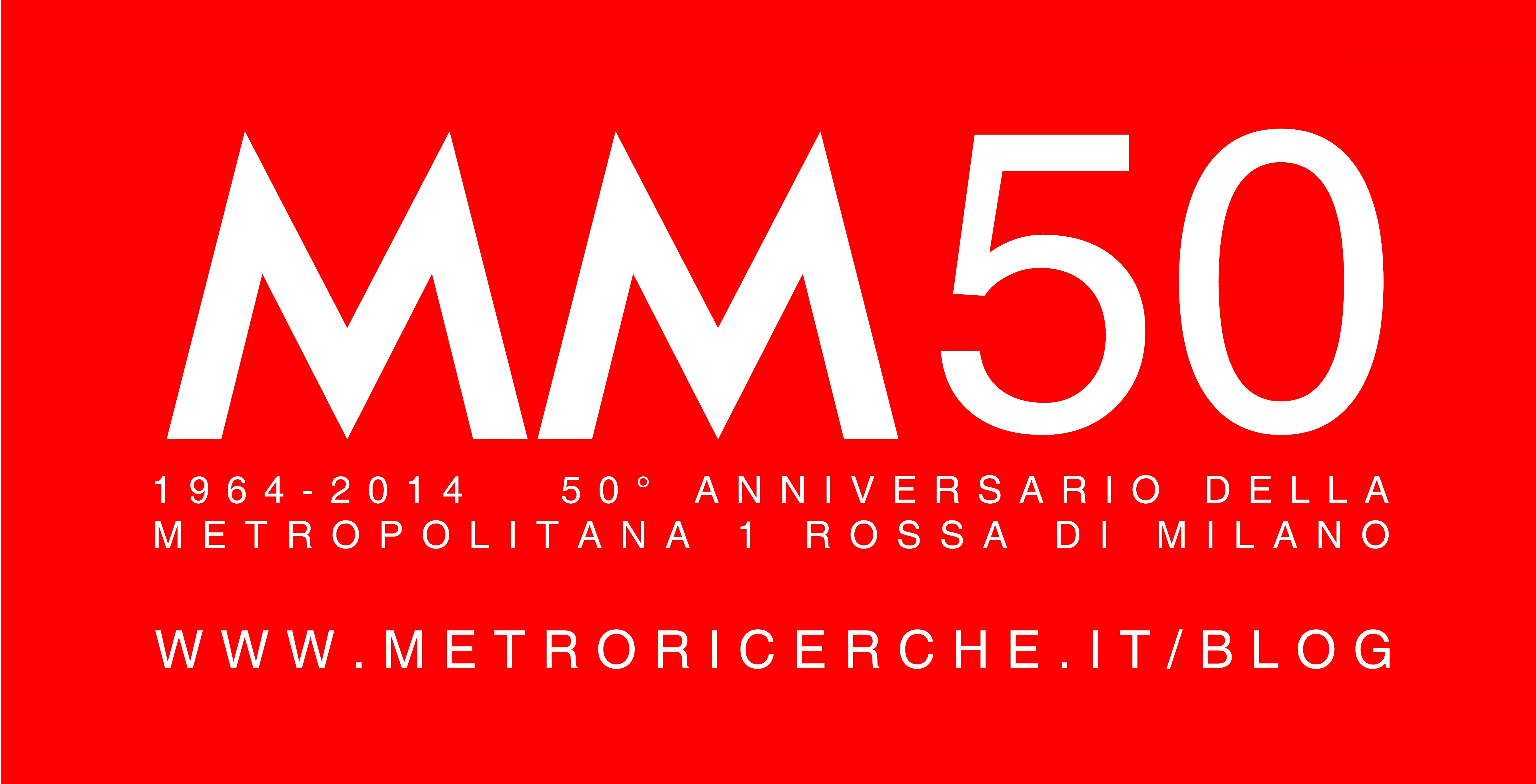 50 Anni Della Linea Mm1 1964 2014 Buon Compleanno Mm1