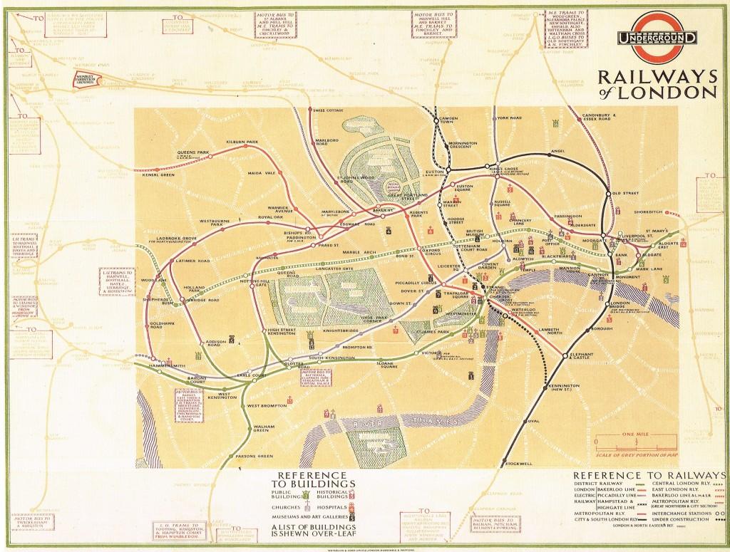 Cartina Metro Londra Con Monumenti.Metropolitana Di Londra Metroricerche Blog